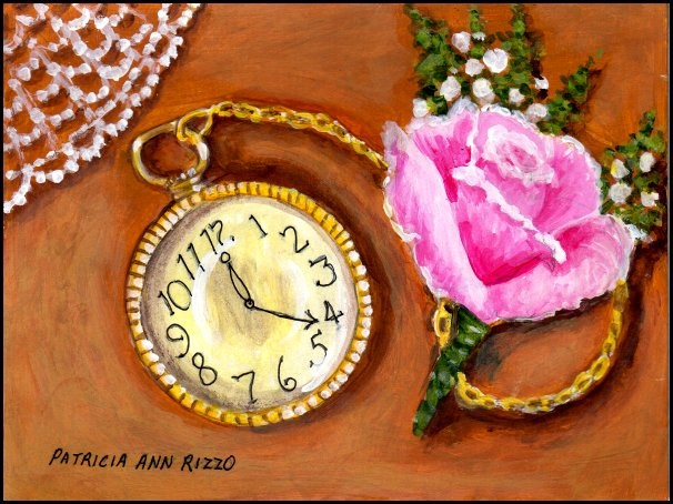 """Memories of the Past"" original fine art by Patricia Ann Rizzo"