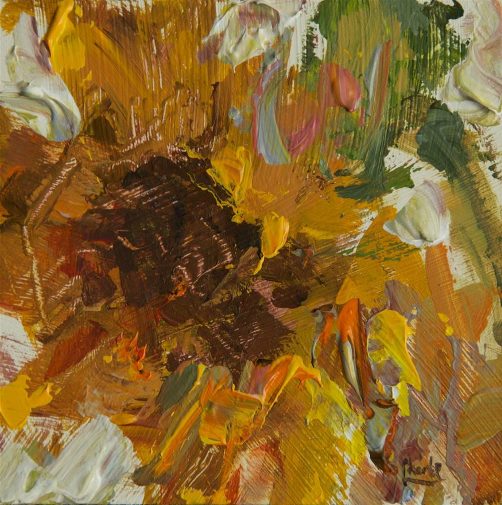 """Sunflower of Mine"" original fine art by Chantel Barber"