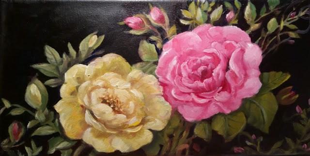 """A Couple Beauties"" original fine art by Wendy Starita"