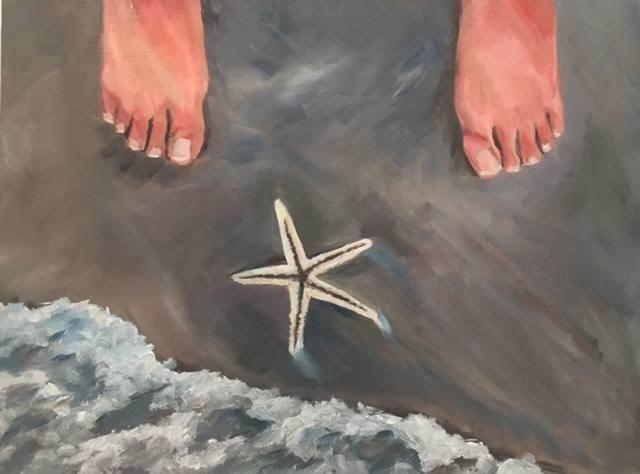 """""""I'm still here"""" original fine art by Renee Robison"""