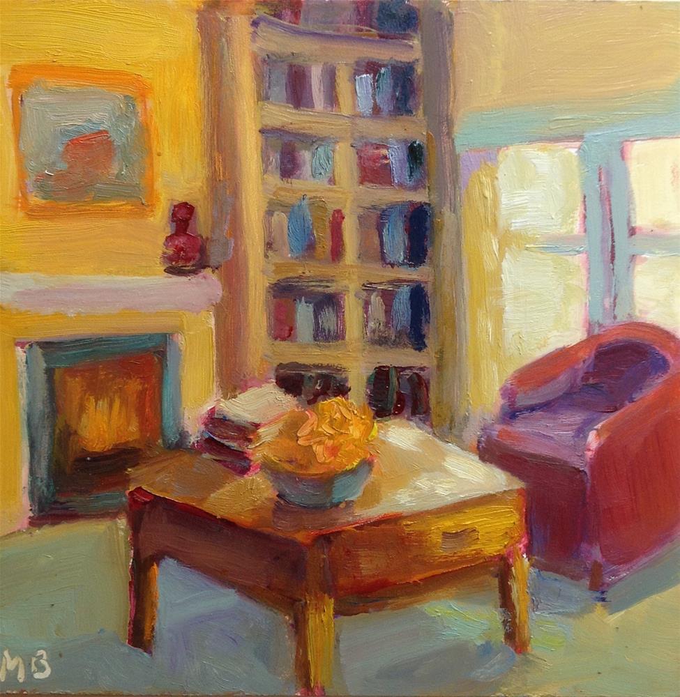 """Cozy Room"" original fine art by Marcia Bergtholdt"