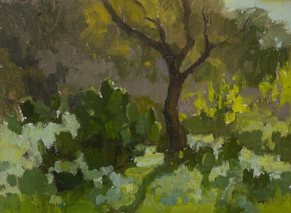 """Plein air study"" original fine art by Liz Wiltzen"
