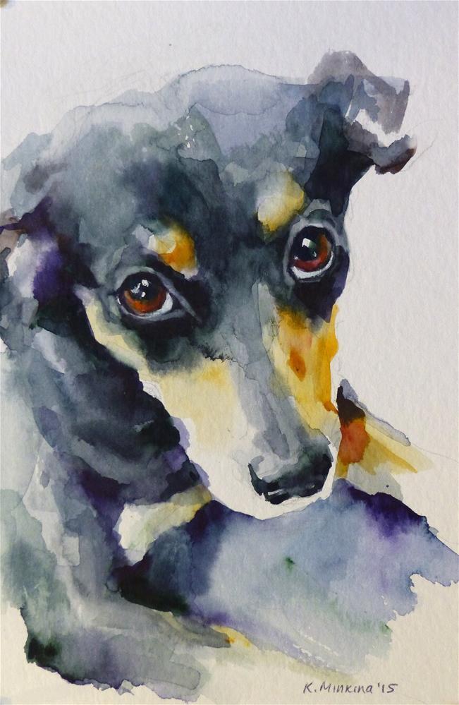 """adopt127"" original fine art by Katya Minkina"