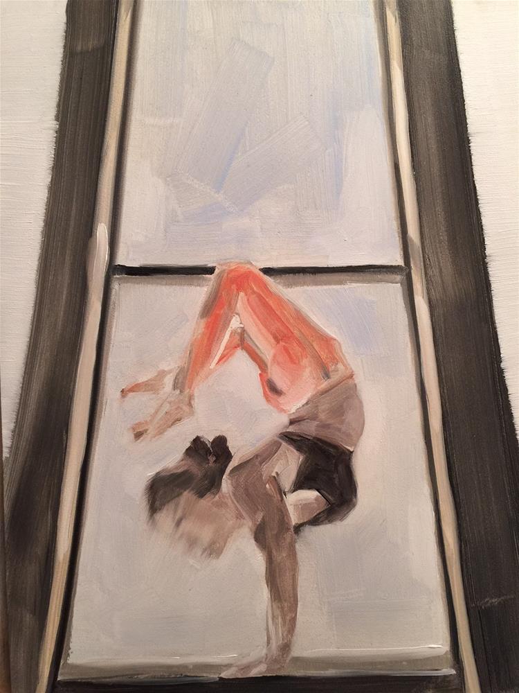 """255 Practice"" original fine art by Jenny Doh"