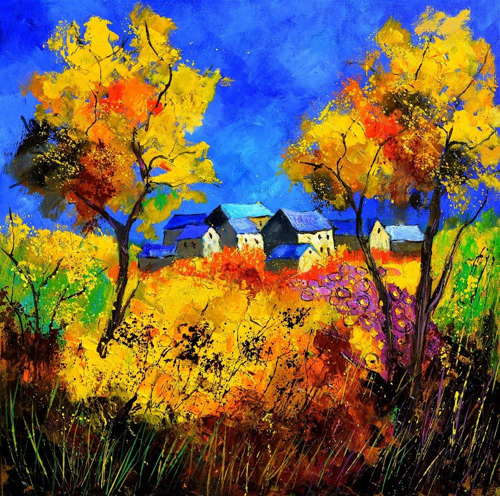 """Summer 885180"" original fine art by Pol Ledent"