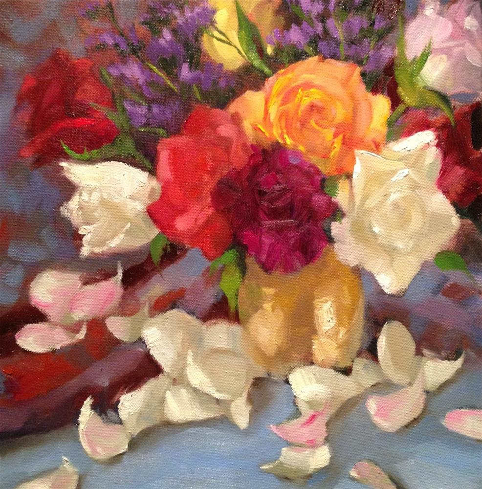 """Petals"" original fine art by Krista Eaton"