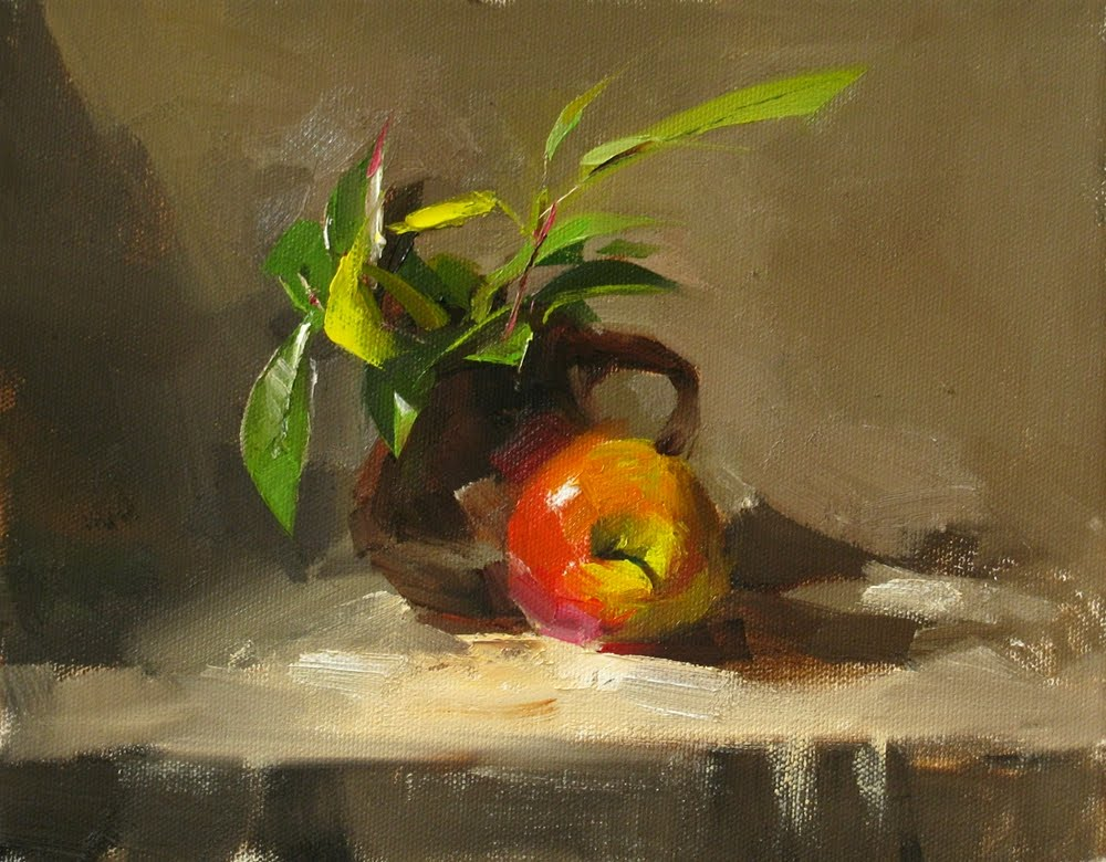 """Fresh"" original fine art by Qiang Huang"