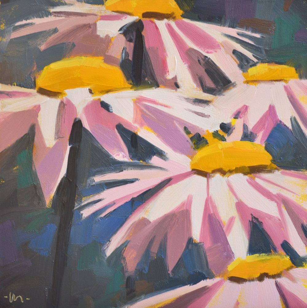 """Pretty in Pink"" original fine art by Carol Marine"