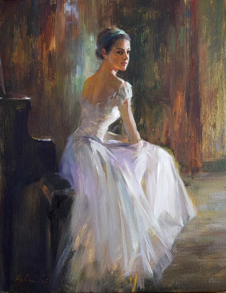 """Ballerina (19)"" original fine art by Kelvin Lei"