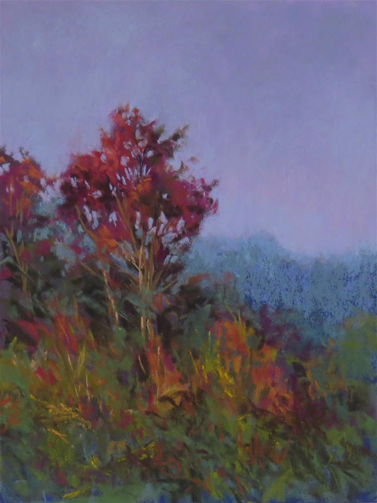 """Ruby Light"" original fine art by Marsha Savage"