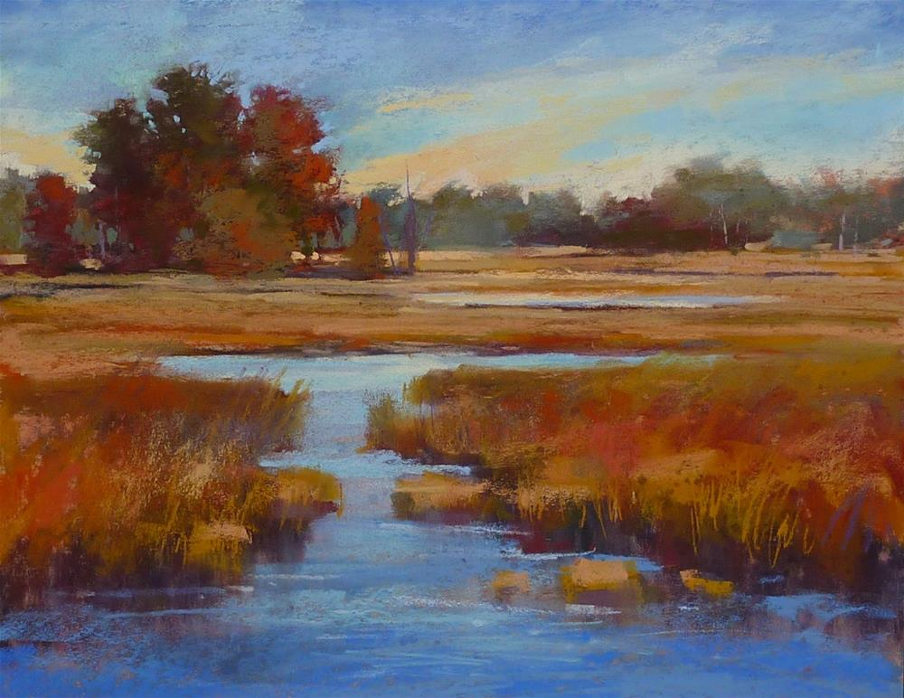 """The Importance of Knowing Your Landscapes"" original fine art by Karen Margulis"
