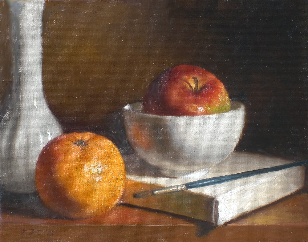 """Quiet"" original fine art by Debra Becks Cooper"