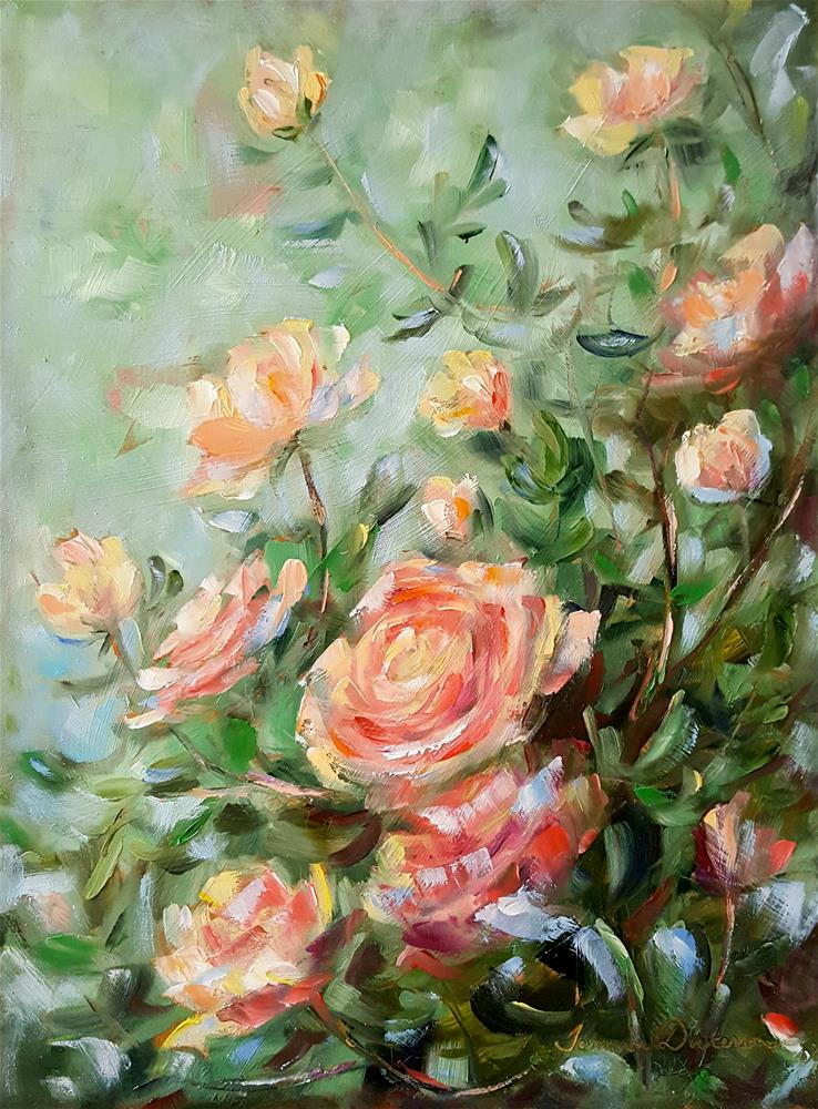 """A Dream of Roses"" original fine art by Tammie Dickerson"