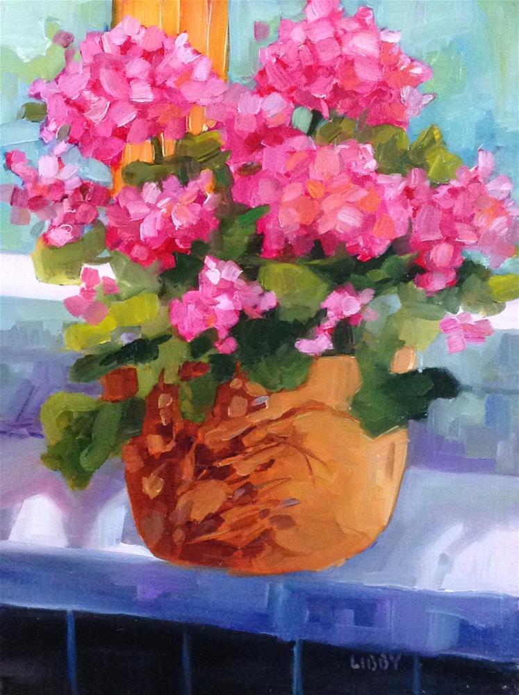 """Light Show"" original fine art by Libby Anderson"