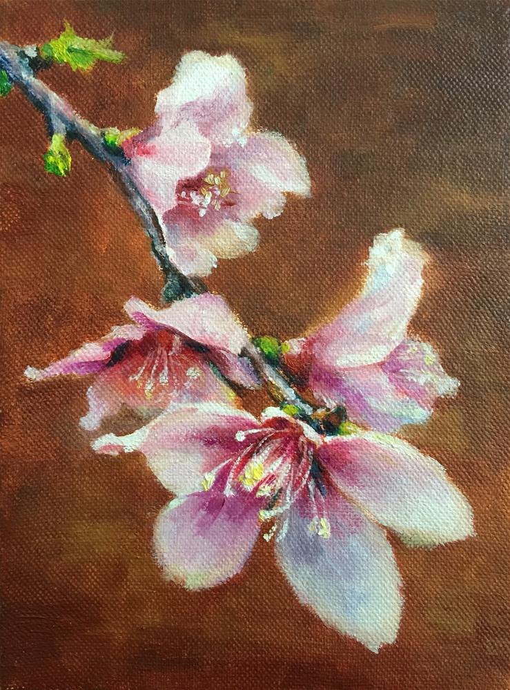 """flower"" original fine art by Joy Cai"