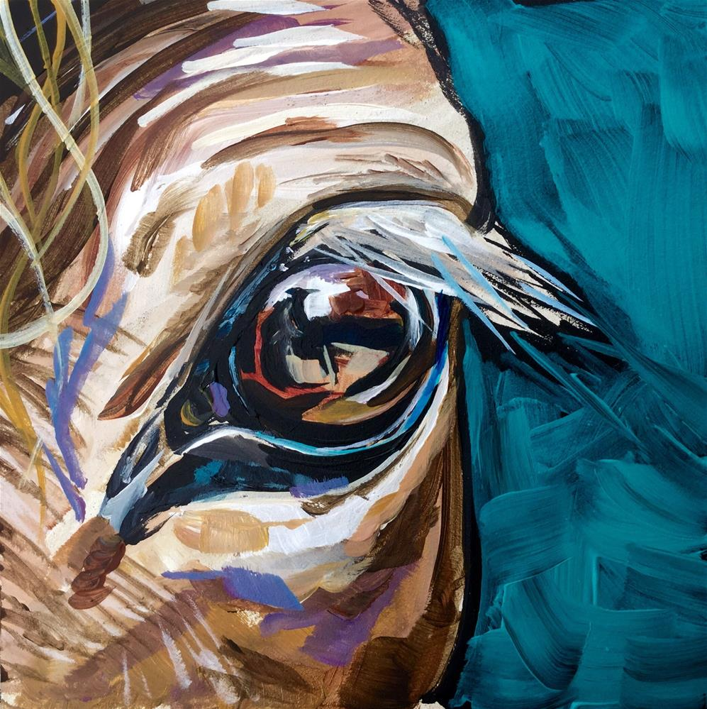 """Eye on You"" original fine art by Lauren Kuhn"