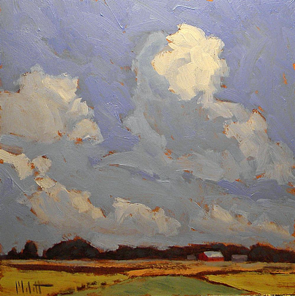"""Impressionist Rural Landscape Paintings"" original fine art by Heidi Malott"