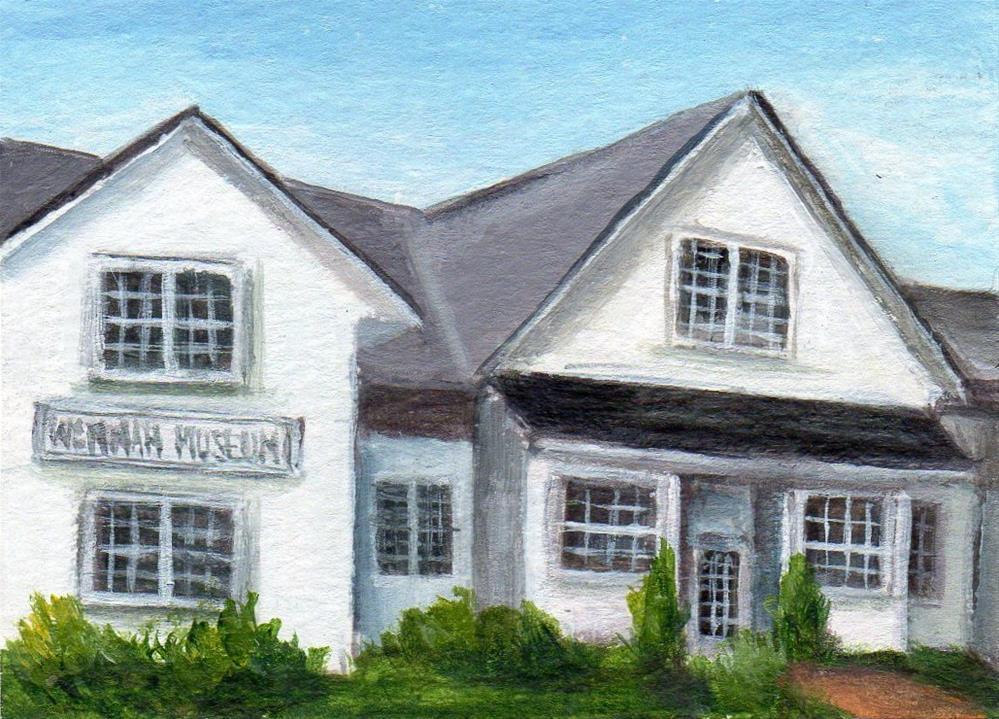 """""""Wenham Museum"""" original fine art by Debbie Shirley"""