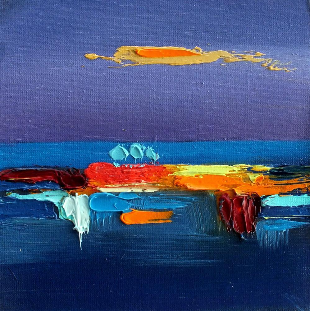"""Landscape 290"" original fine art by Ewa Kunicka"