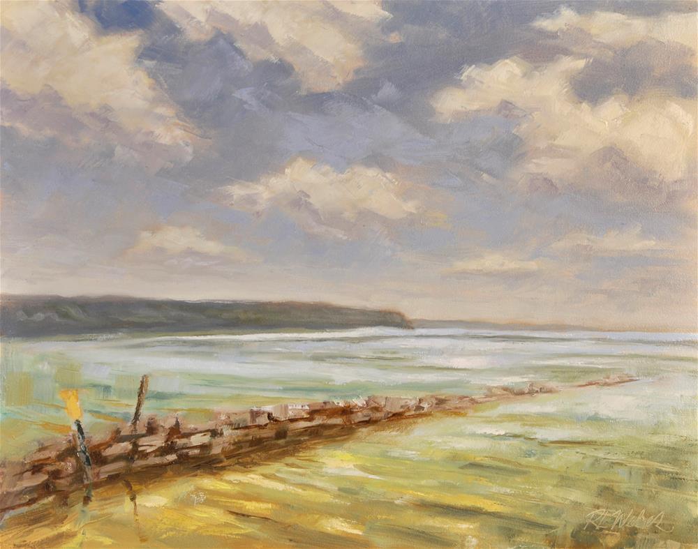 """Leaving Atwater"" original fine art by Rl Weber"