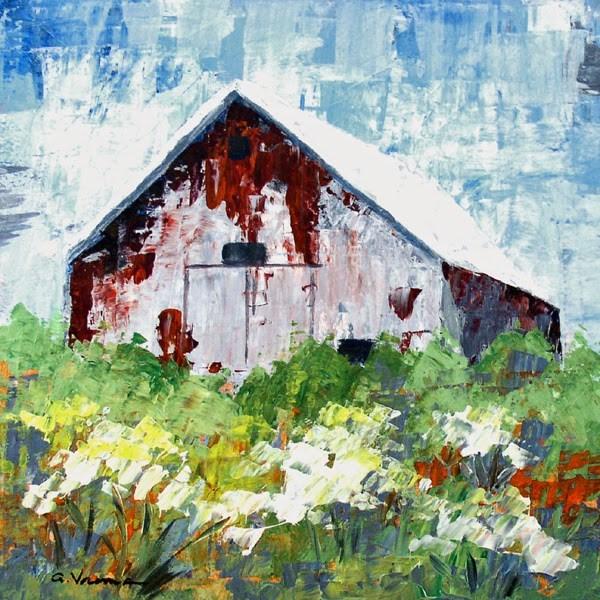 """""""Barn #14"""" original fine art by Anna Vreman"""