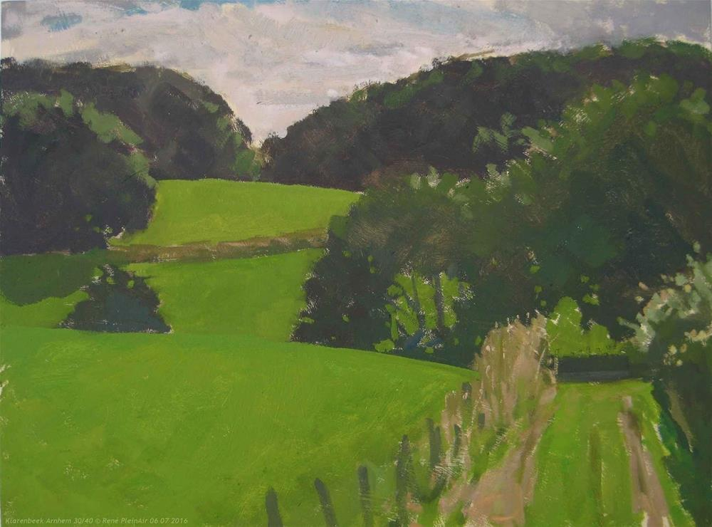 """Klarenbeek Arnhem, The Netherlands"" original fine art by René PleinAir"