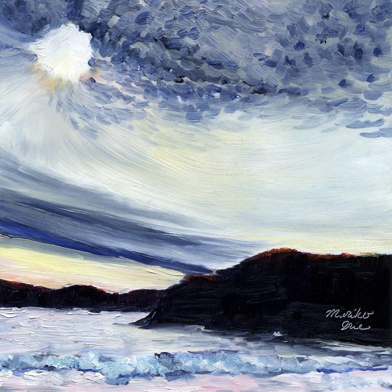 """Light at the Headlands"" original fine art by Mariko Irie"