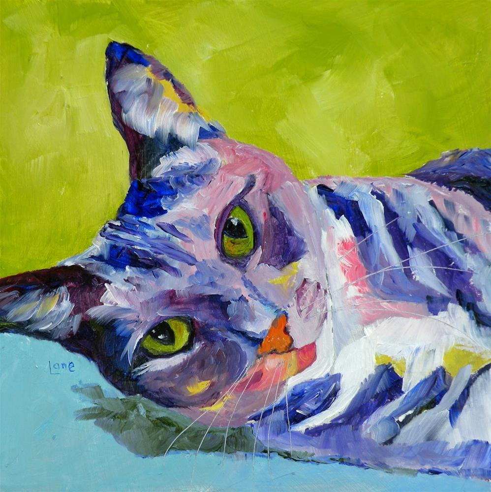"""ELARA 21/100 OF 100 PET PORTRAITS IN 100 DAYS © SAUNDRA LANE GALLOWAY"" original fine art by Saundra Lane Galloway"