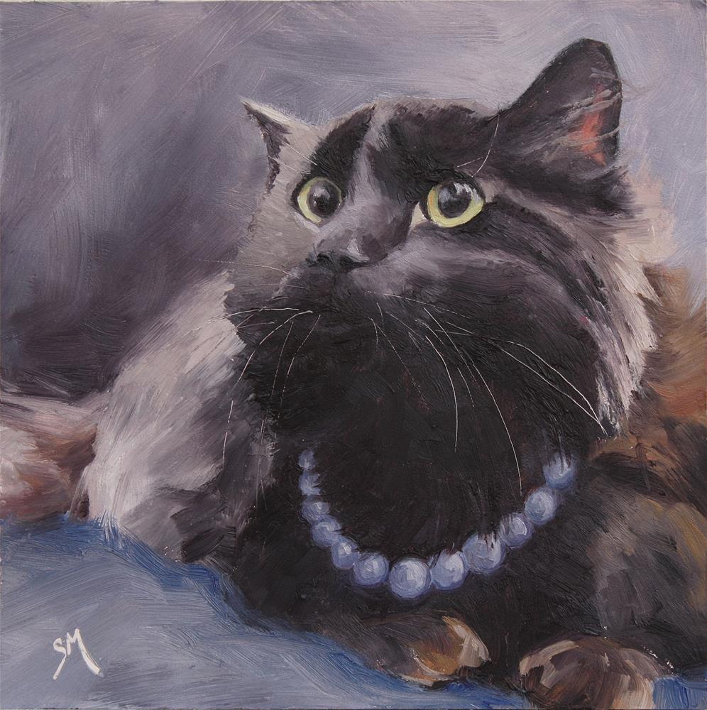 """Adele"" original fine art by Sheila Marie"
