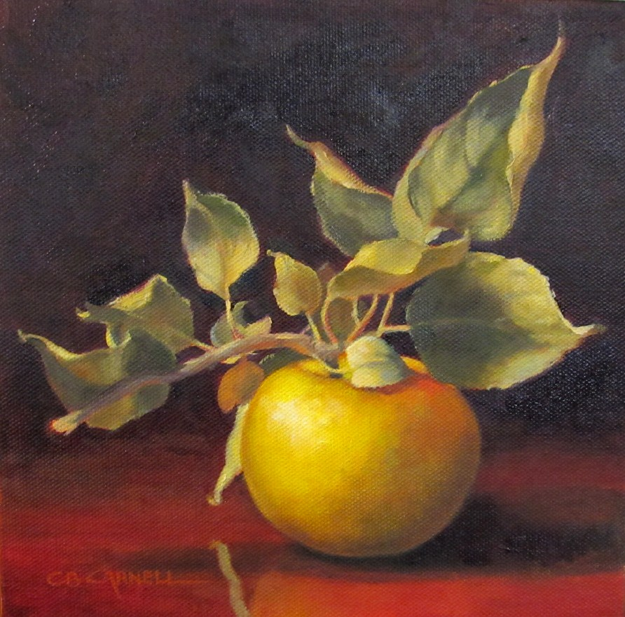 """TEMPTATION An Original Oil Painting by Claire Beadon Carnell"" original fine art by Claire Beadon Carnell"