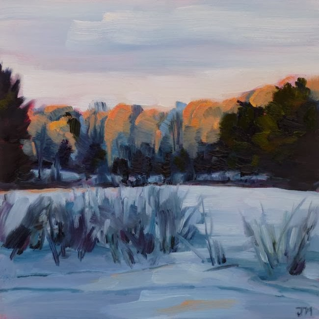 """Sugar Bush"" original fine art by Jessica Miller"