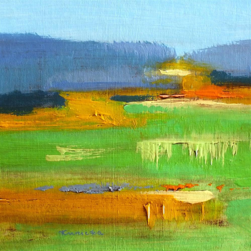 """Landscape 305"" original fine art by Ewa Kunicka"