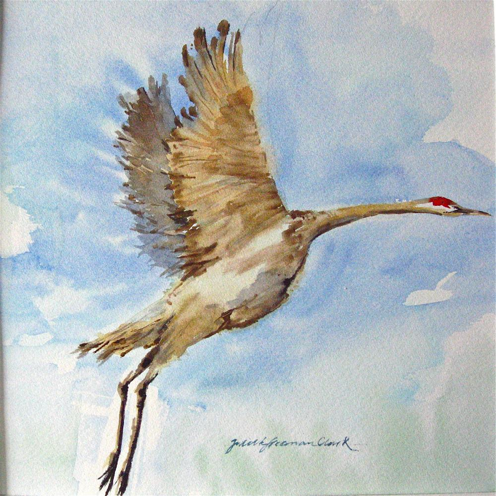 """Icarus"" original fine art by Judith Freeman Clark"