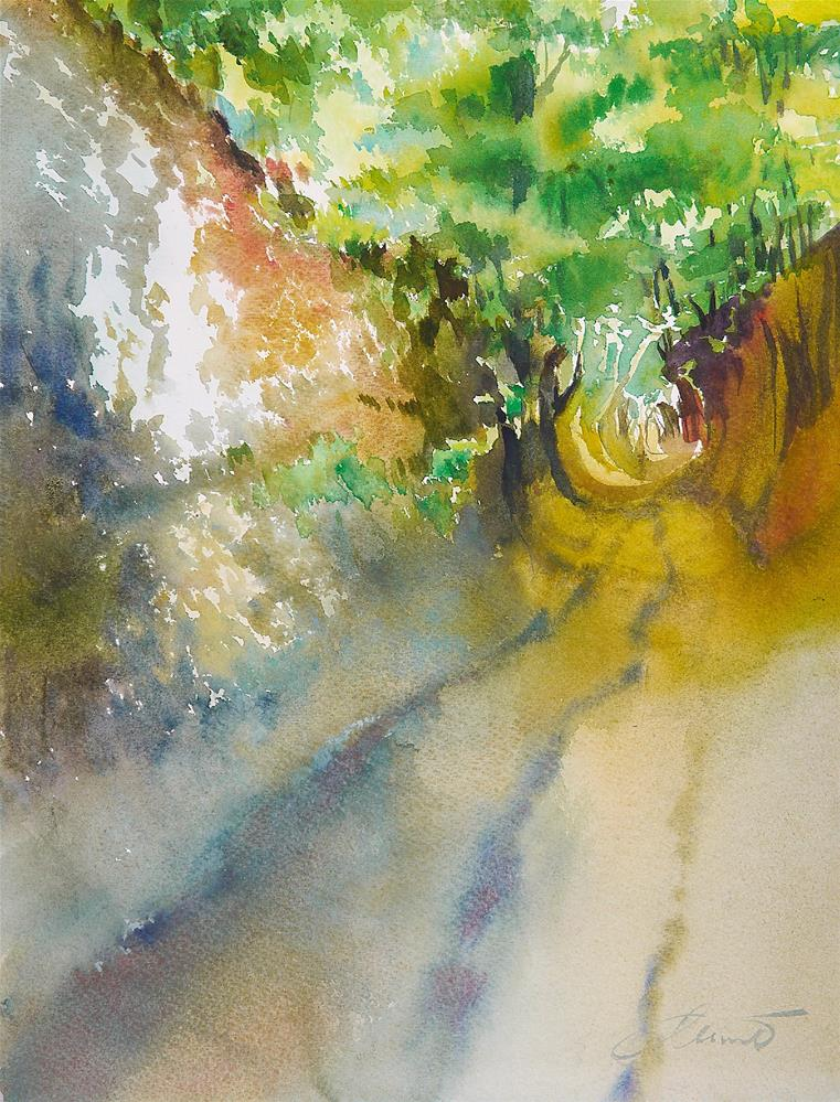 """ravine_3"" original fine art by Beata Musial-Tomaszewska"