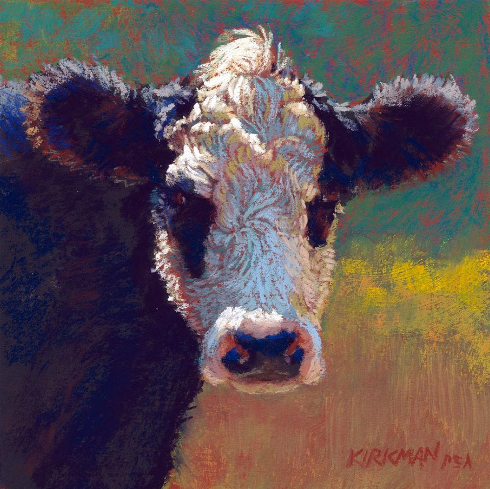 """Curly"" original fine art by Rita Kirkman"