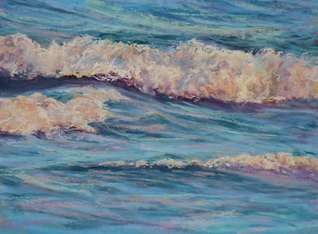 """Ebb and Flow"" original fine art by Sharon Lewis"