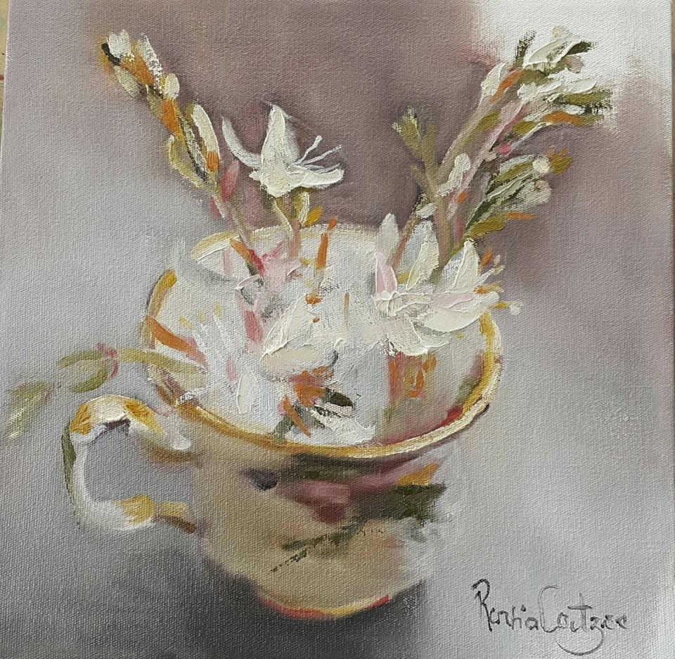 """Zorn palette"" original fine art by Rentia Coetzee"