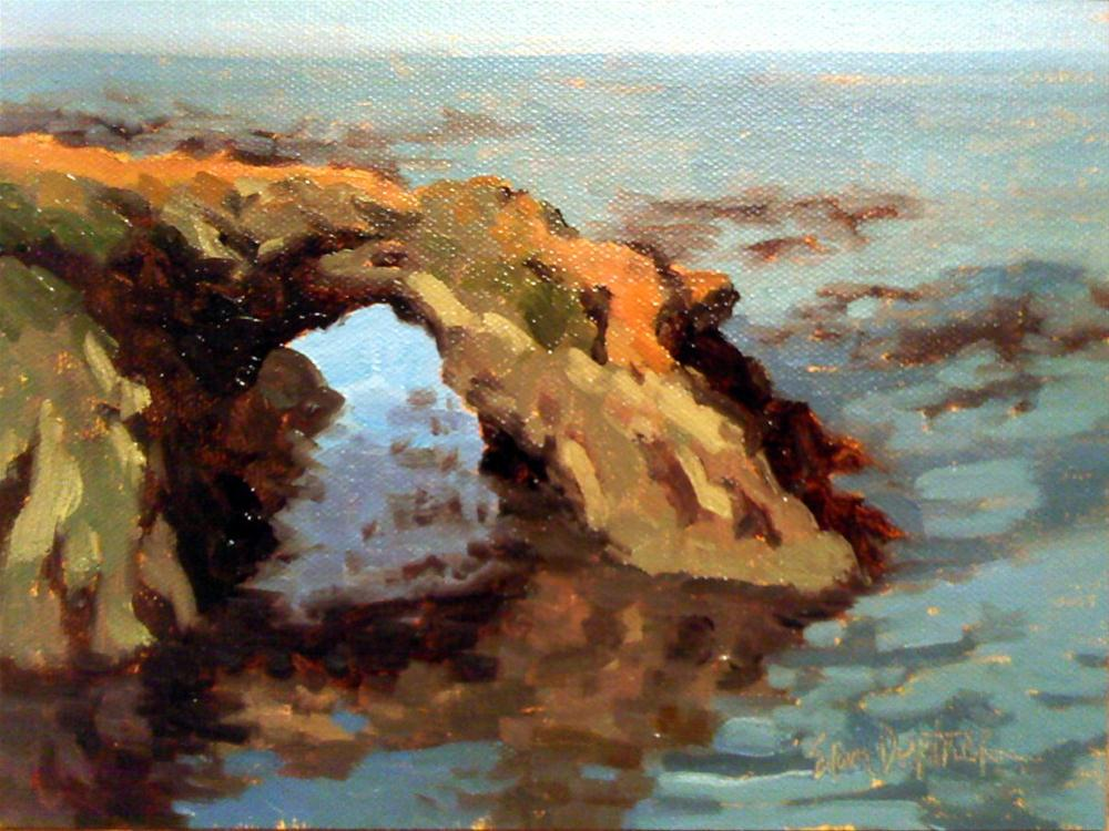 """""""Arch Across the Ocean"""" original fine art by Erin Dertner"""