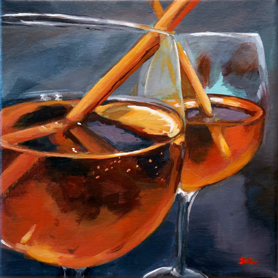 """1376 Spritz"" original fine art by Dietmar Stiller"