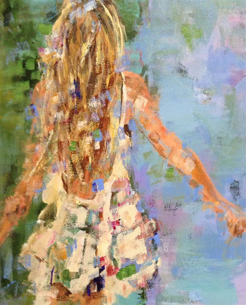 """Girl Interrupted"" original fine art by Molly Wright"