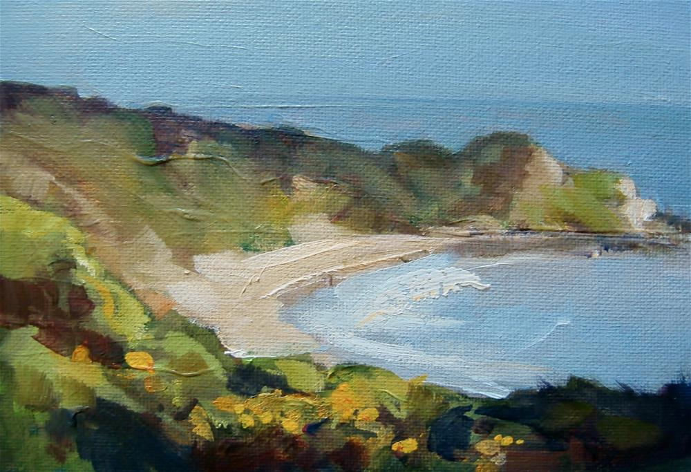 """Bay Watching"" original fine art by Anne Wood"