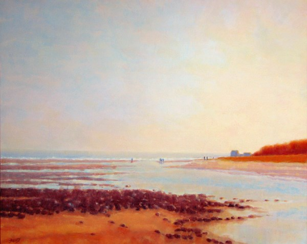 """Parsons Beach (1)"" original fine art by J Kelsey"