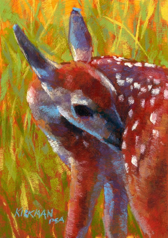 """Fawn"" original fine art by Rita Kirkman"