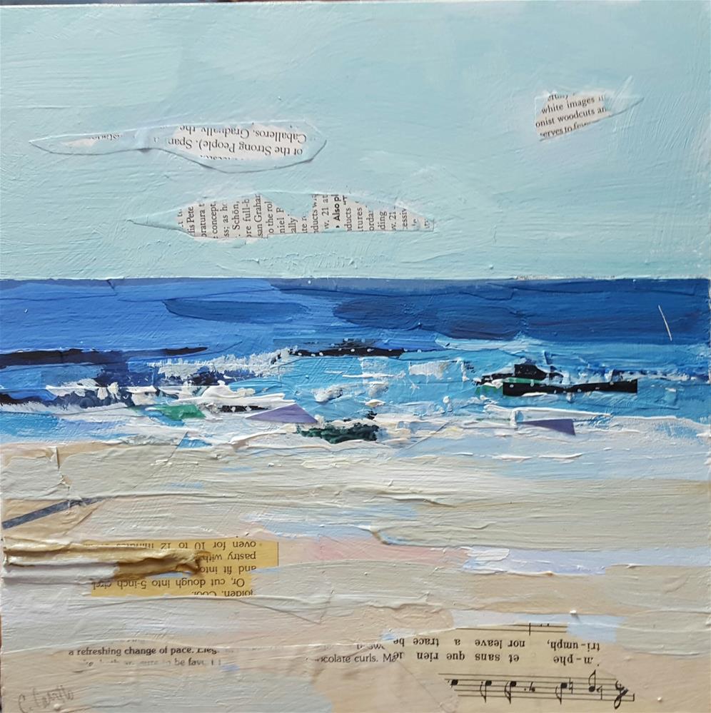 """Beach Song"" original fine art by Cindy Carrillo"