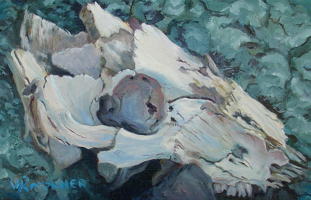 """""""Death Valley green clay"""" original fine art by Dave Rauscher"""