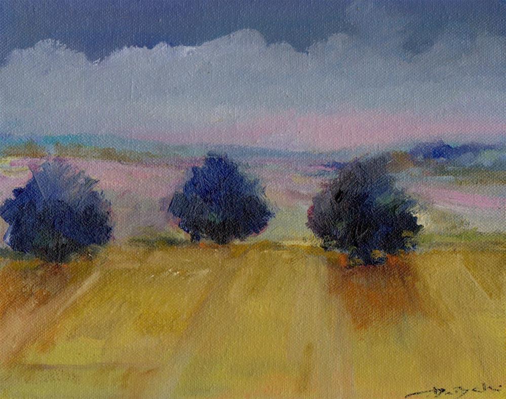 """""""early morning"""" original fine art by Leo DeBak"""