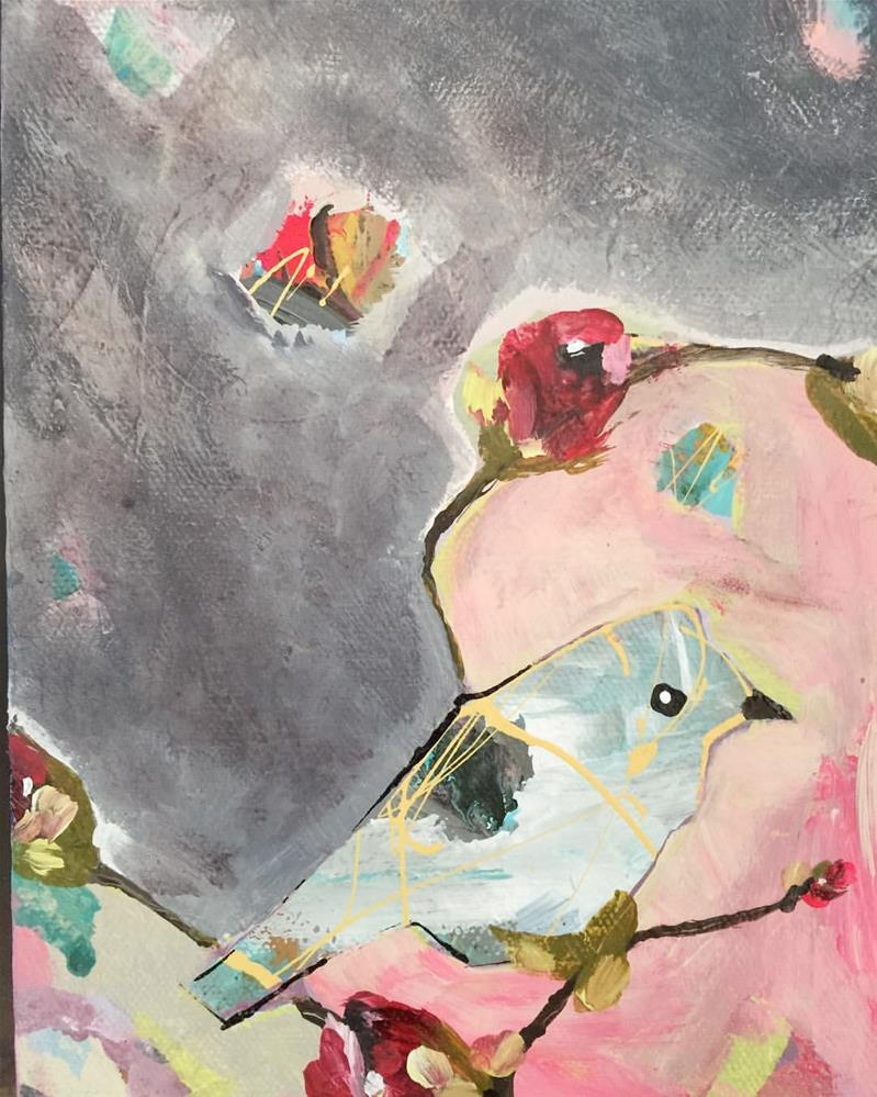 """Bird_OCT112015"" original fine art by Jenny Doh"