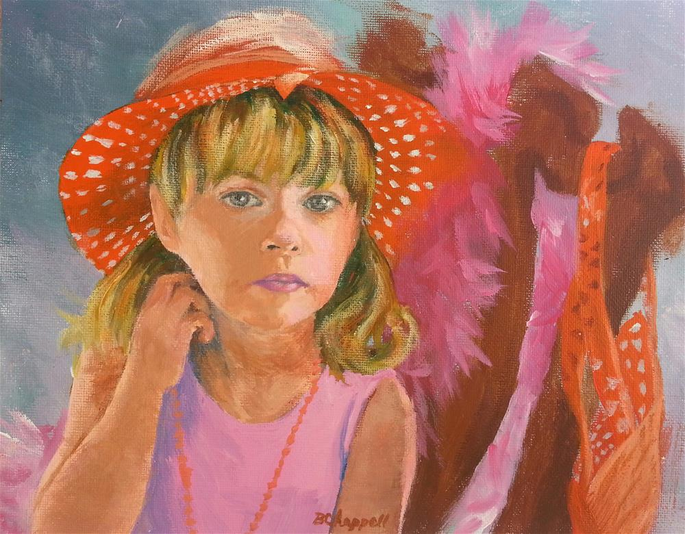 """Arli"" original fine art by Becky Chappell"
