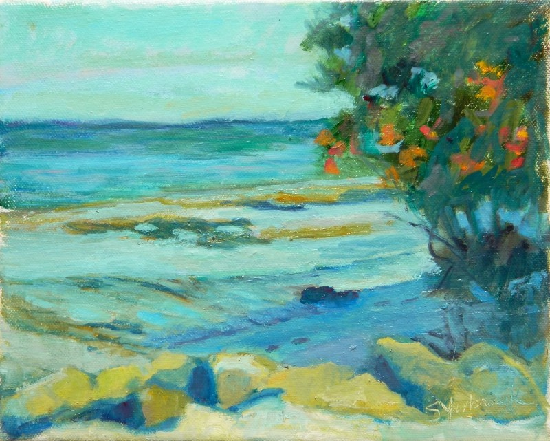 """Low Tide"" original fine art by Sharon Yarbrough"
