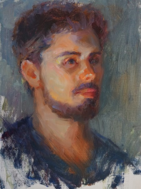 """""""Clay"""" original fine art by Carol Myer"""